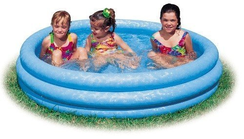 (Intex - Inflatable Swimming Pool (45 Inches by 10 Inches) (Crystal Blue))