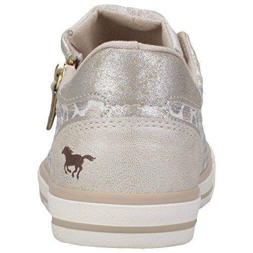 Mustang Vrouwen 1146-312-243 Sneaker Ivoor (ivoor)