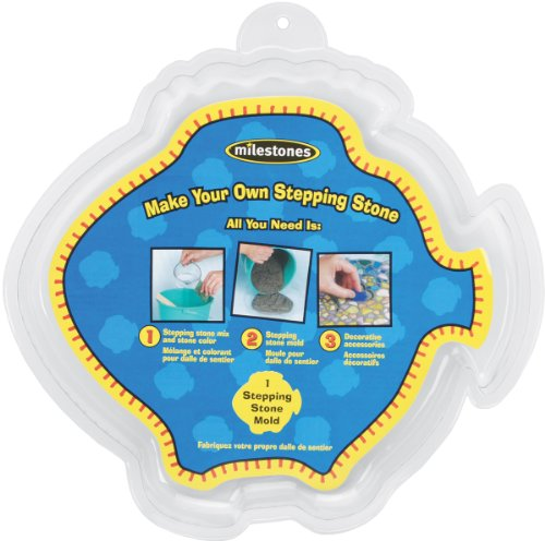 Midwest Large Fish Stepping Stone Mold, 12-Inch