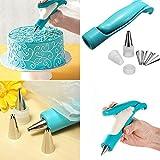 Windspeed Pastry Icing Piping Bag Nozzle Tips Fondant Cake Sugar Craft Deal (Small Image)