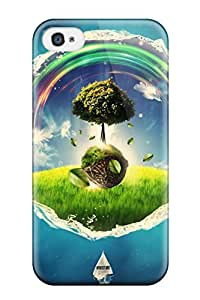 Forever Collectibles Wonderland Hard Snap-on Iphone 4/4s Case