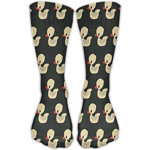 (JINYOUR Lovely Duck Women's Casual Athletic Stockings 30CM Long Socks )