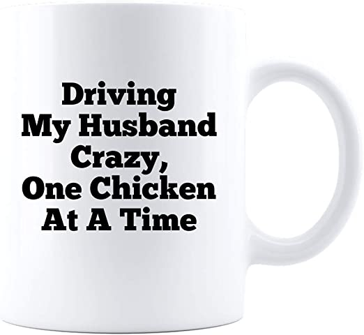 Crazy Chicken Lady Coffee Mug Christmas Gift