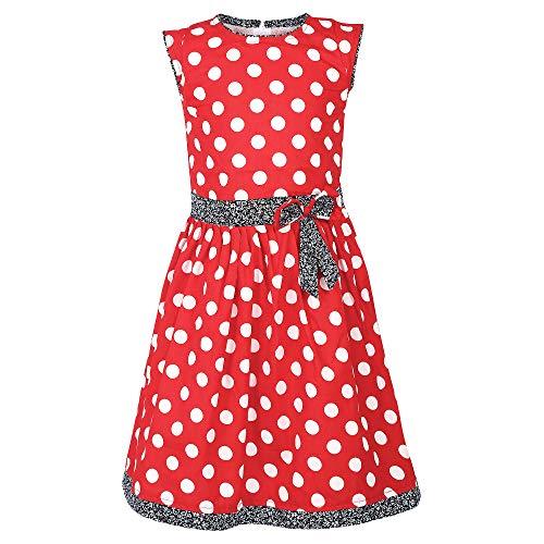 Arshia Fashions Girls Printed Cotton Frock Dress