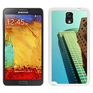 Cityscape Wall (2) Hard Plastic Samsung Galaxy Note 3 Protective Phone Case