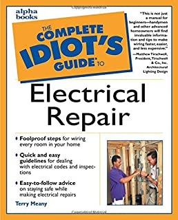 the complete idiot's guide to electrical repair terry meany electrical wiring for dummies book electrical wiring for dummies #4