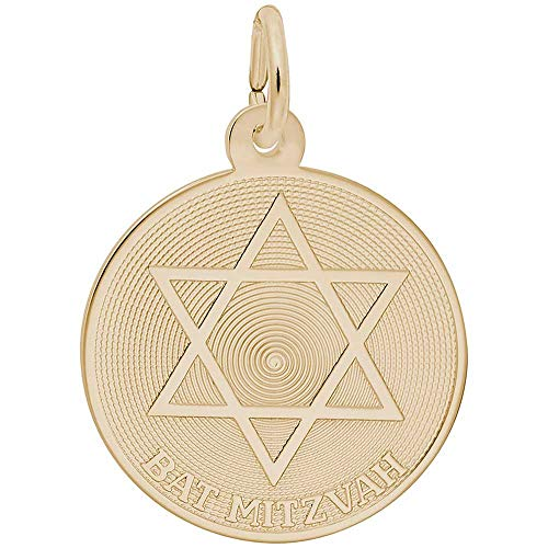 Rembrandt Charms Bat Mitzvah Charm, 10K Yellow ()