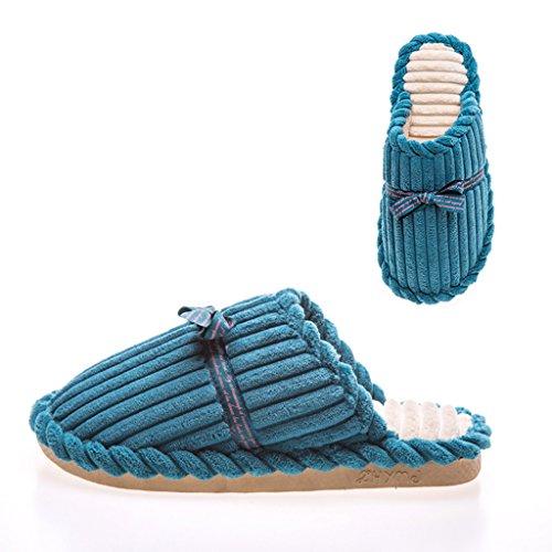 de de Algodón Cálido Mujer Hogar Cálido Interior Zapatos C DWW de Zapatillas Invierno 6Yq5Z5