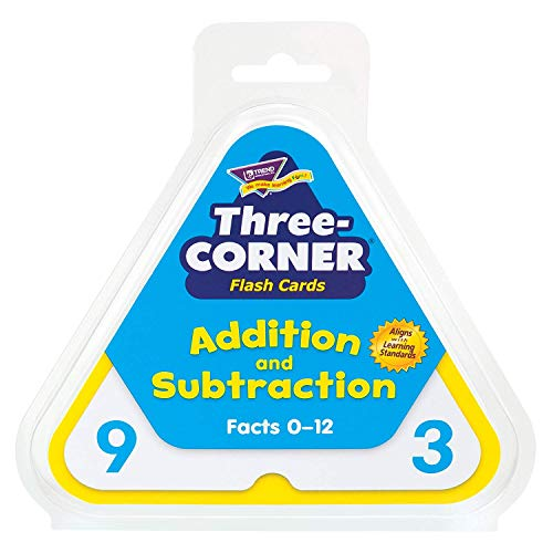 - Three-Corner Flash Cards: Addition and Subtraction