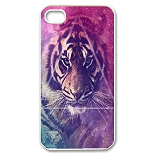 Tiger Customized Cover Case for Iphone 4,4S,custom phone case ygtg539323