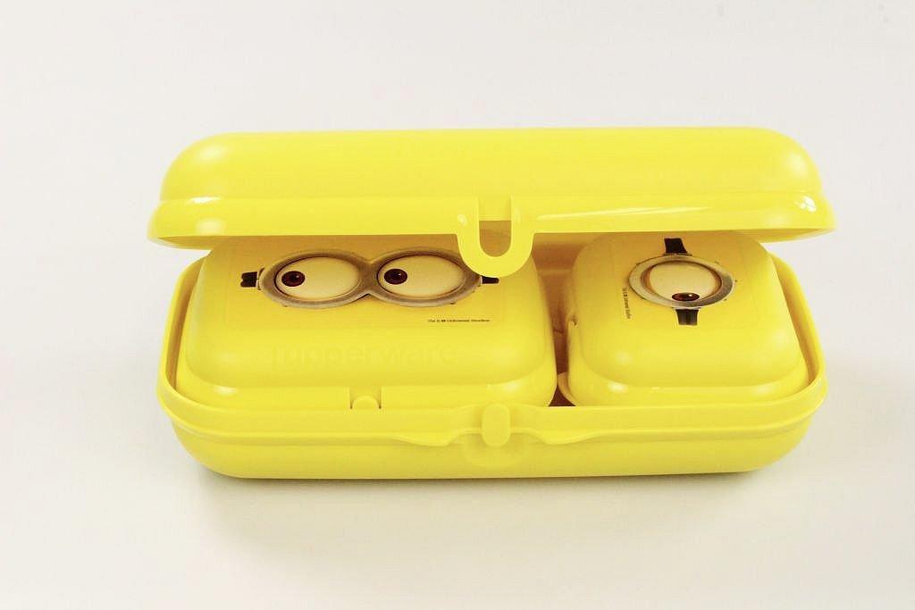 Twin GR 2/+ Mini-Twin GR Tupperware to go Minions Giallo Maxi-Twin 1/P 26402
