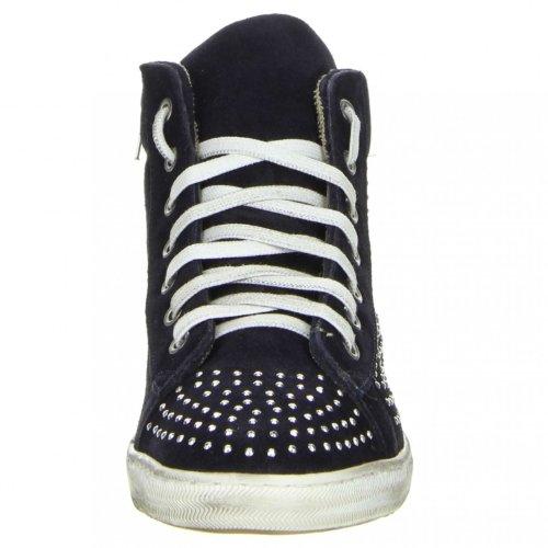 Méliné Damen High-Top Sneaker schwarz Schwarz