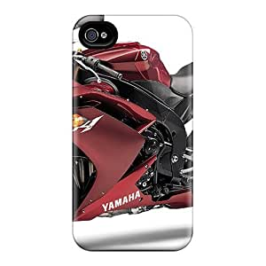 New Williams6541 Super Strong Yamaha R1 Tpu Case Cover For Iphone 4/4s by mcsharks