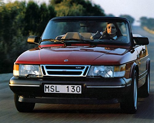 Image Unavailable. Image not available for. Color: 1987 Saab 900 Turbo Cabriolet ...