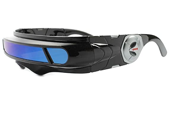e0d0e108567c Image Unavailable. Image not available for. Color  Cosplay X-Men Cyclops  Costume Visor Sun Glasses