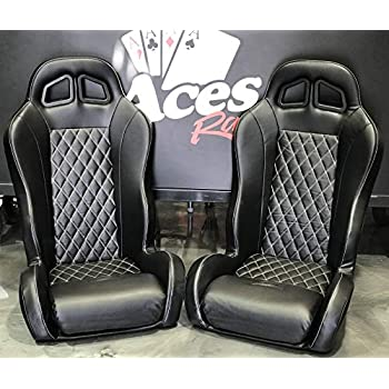 Surprising Polaris Rzr Suspension Seats Bucket Seats Pair Black Theyellowbook Wood Chair Design Ideas Theyellowbookinfo