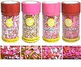 Wilton Valentines Sprinkles 4-pack (Valentines A)