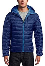 Outdoor Research Men\'s Transcendent Down Hoody, Baltic/Glacier, Small
