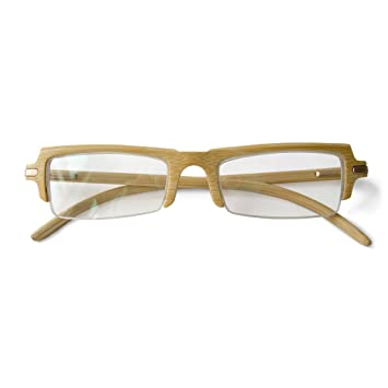 b9b54ddcbc Image Unavailable. Image not available for. Color  Bamboo Eyeglass Frames  ...