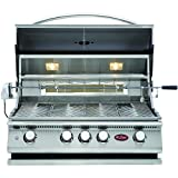 Cal Flame BBQ13P04 4 Burner Built In Grill No Conversion Kit