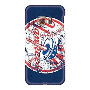 Top10cases Samsung Galaxy S6 Scratch Protection Mobile Cases Custom Stylish New York Yankees Series [fqd278KJHL]