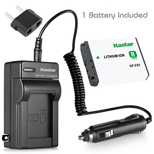 Kastar Battery (1-Pack) + Charger for Sony NP-FR1, BC-TR1, TRN and Sony Cyber-Shot DSC-F88, DSC-G1, DSC-P100, DSC-P100/LJ, DSC-P100/R, DSC-P120, DSCP150, DSC-P200, DSC-T30, DSC-T50, DSC-V3 Cameras