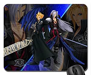 Cloud and Sephiroth Mouse Pad, Mousepad (10.2 x 8.3 x 0.12 inches)