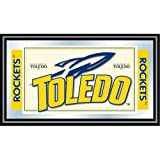NCAA University of Toledo Framed Logo Mirror