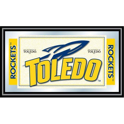 Trademark Gameroom NCAA University of Toledo Framed Logo Mirror by Trademark Gameroom