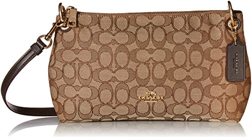 Womens Outline Signature Charley Crossbody