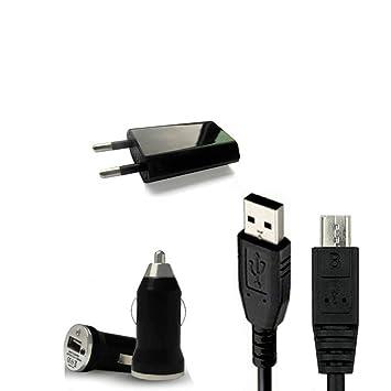 Mega - Accesorio de teléfono móvil 3 en 1 usb cargador micro ...