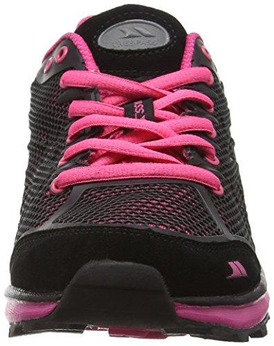 Trespass FAFOTNK30002REFSA39 - Zapatillas de Running de Competición de Material Sintético Mujer Rosa (Fuchsia)