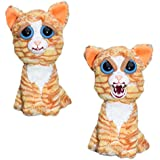 William Mark Feisty Pets Princess Pottymouth Adorable Plush Stuffed Cat that Turns Feisty with a Squeeze