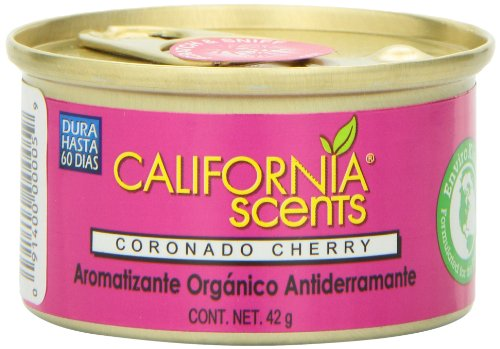 California Scents Spillproof Organic Air Freshener Twin-pack, Coronado Cherry, 1.5 Ounce Canister (Pack of 4) by California Scents (Image #5)