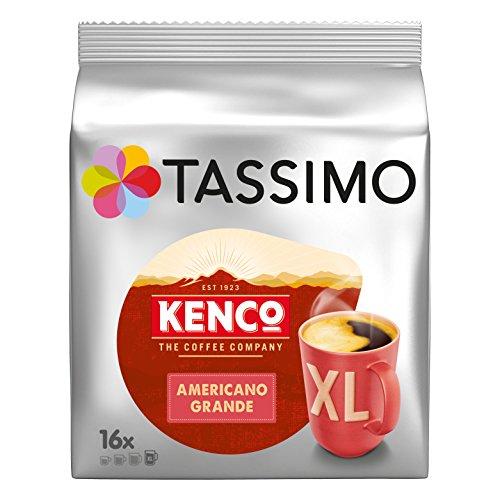 Tassimo – Kenco – Caffe Crema – 128g (Case of 5)