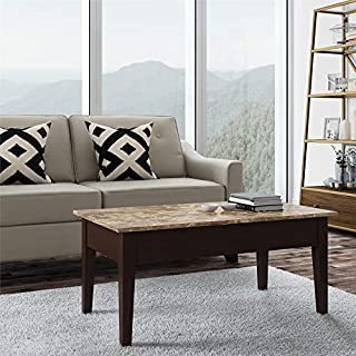 Dorel Living Faux Marble Lift Top Coffee Table (B00F2GF1W4)   Amazon Products