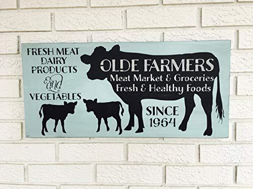 (Ruskin352 Farmers Market decor Local Market Sign Outdoor Market Art Roadside Store Sign Food Stall Sign Garden Fresh Sign Farmers Market Style)