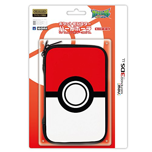 Pokemon Monster Ball Hard Pouch for New Nintendo 3DS XL (Nintendo Licensed Products)