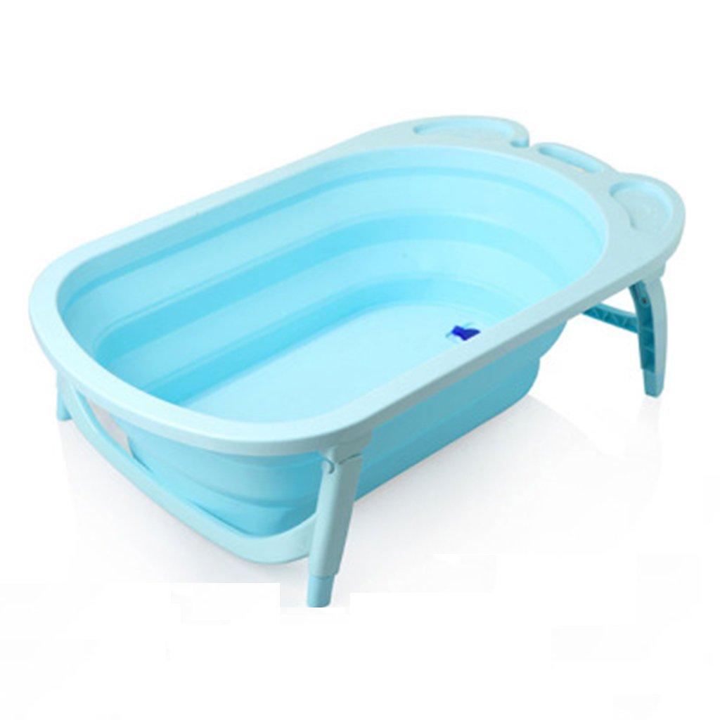 JP bathtub JPYG Baby Foldable Thicker Pink, Blue, Purple 81.5 23cm Plastic Material Portable (Color : #3)
