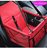 youyoubang 2019 Upgraded Version of Portable pet Dog Booster car seat with Clip-Type Safety Lead - Suitable for Small and Medium Pets, up to 20 pounds