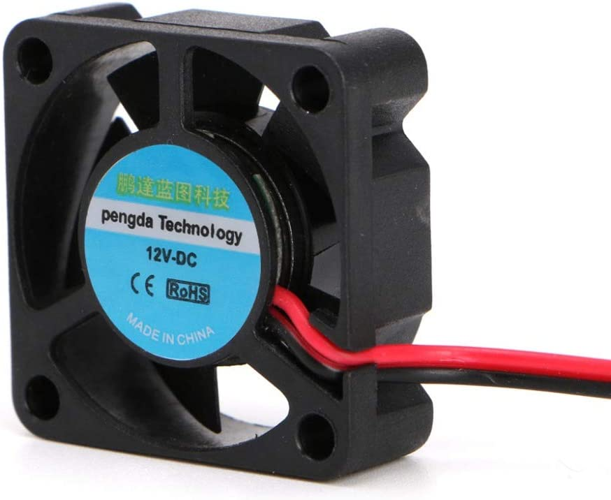 DC 12V 30x30x10mm Small 2-Wire Cooling Fan 3010 For 3D Printer Parts Extruder #H029# V2AMZ