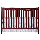 Dream On Me Chelsea 7-in-1 Convertible Crib, Style Number: 680, Cherry