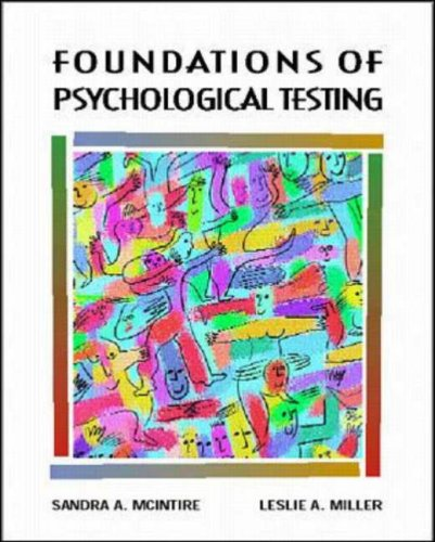 Foundations of Psychological Testing