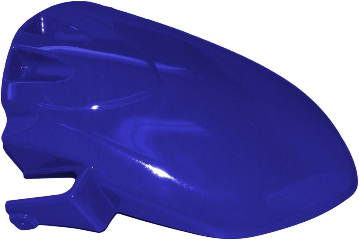 Yana Shiki HUGSZX100607CPB Candy Plasma Blue ABS Plastic Rear Tire Hugger for Kawasaki ZX-10R