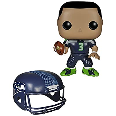 Funko POP NFL: Wave 1 - Russell Wilson Action Figures: Funko Pop! Sports:: Toys & Games