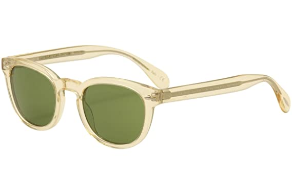 291d0973f7 Amazon.com  Oliver Peoples Unisex Sheldrake Sun Buff Green Vintage ...