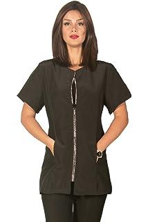 35cdadb95ada80 Amazon.com   Ladybird Line Rhinestone Pet Groomer Jacket Perfect for ...