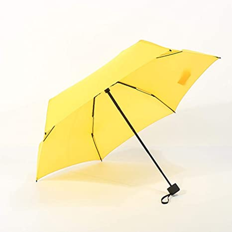 LiféUP lā Vestmon Mini Paraguas Plegable, Ultraligero y pequeño, Anti-UV, Paraguas
