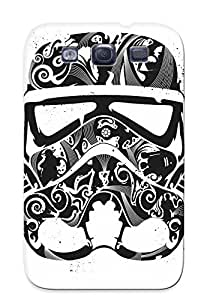 Premium CCoQnBi2699LMRDB Case With Scratch-resistant/ Star Wars Minimalistic Stormtroopers Artwork Case Cover For Galaxy S3