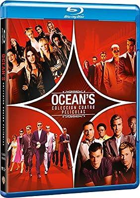 OceanS Colección Cuatro Películas [Blu-ray]: Amazon.es: Julia Roberts, Matt Damon, Andy Garcia, Sandra Bullock, Cate Blanchett, Anne Hathaway, George Clooney, Brad Pitt, Steven Soderbergh, Gary Ross, Julia Roberts, Matt Damon: Cine y